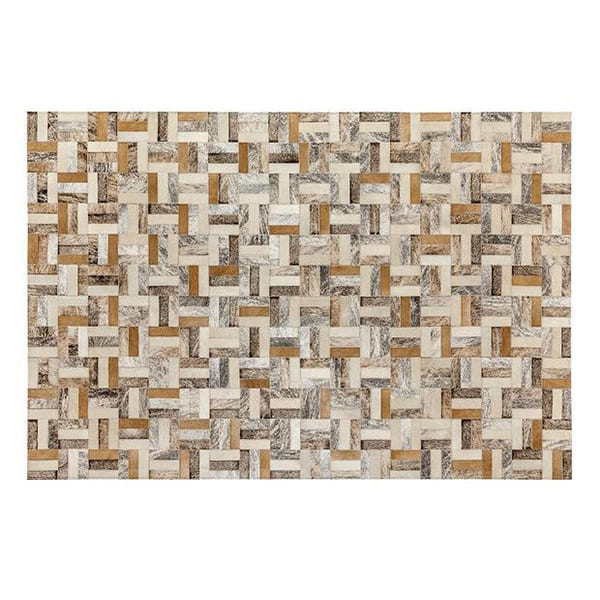 Saddlemans The Holiday Beige Custom Rug