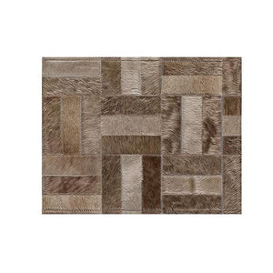 Saddlemans The Holiday Champagne Custom Rug