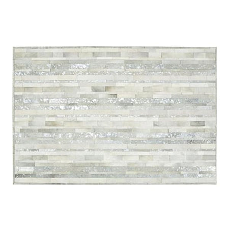 Saddlemans The Nina Silver Custom Rug