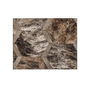 Saddlemans The Sinatra Brindle Custom Rug