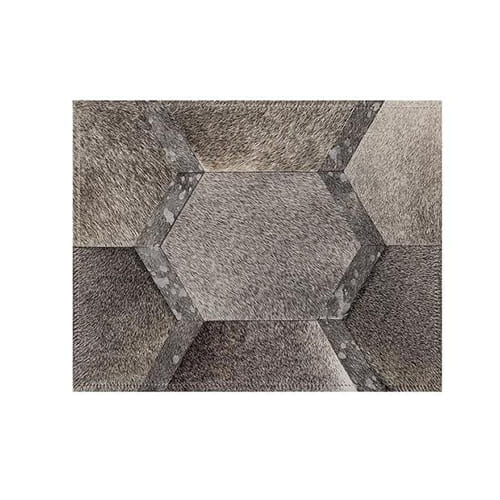 Saddlemans The Sinatra Grey Custom Rug