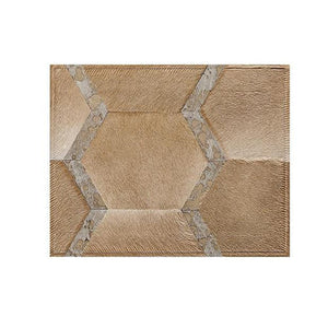 Saddlemans The Sinatra Tan Custom Rug