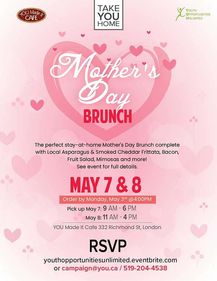 Mother's Day Event Poster