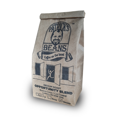 Patrick's Beans Opportunity Blend Coffee