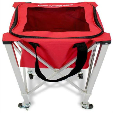 PowerNet Wheeled Ball Caddy Cart for Baseball Softball