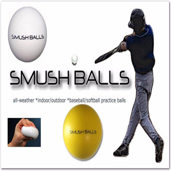 Smushballs - The Ultimate Anywhere Batting Practice Ball