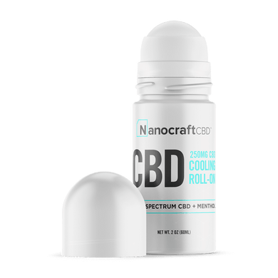 Cooling Roll-on Gel - Broad Spectrum CBD 250mg