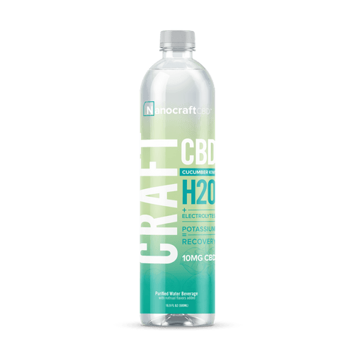 Cucumber Kiwi CBD Energy Water - Recovery 12 Pack