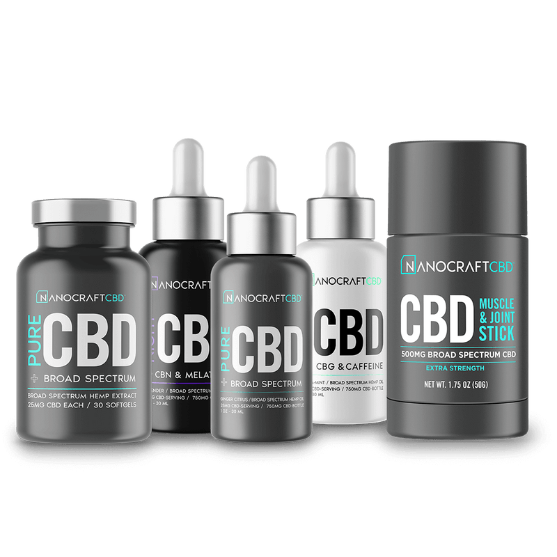 4.6 star rating 14 Reviews NANOCRAFT ULTIMATE CBD BUNDLE