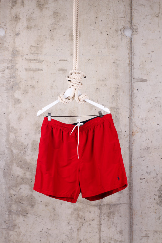 Ralph Lauren Red Traveler Swim Shorts - Size XL