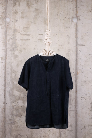 Snowpeak Denim Short Sleeve Shirt - Size large