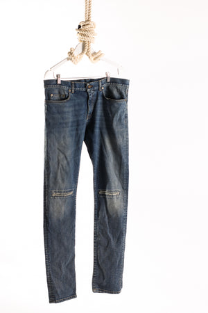 MENS SAINT LAURENT PARIS SKINNY JEANS - Waist 33