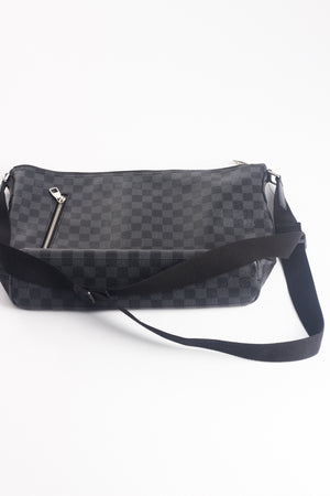 LOUIS VUITTON Damier Graphite Mick MM Cross body bag Messenger bag
