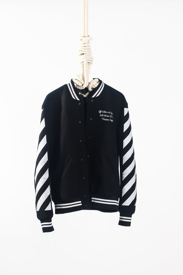 OFF WHITE LETTER MAN JACKET - Size M