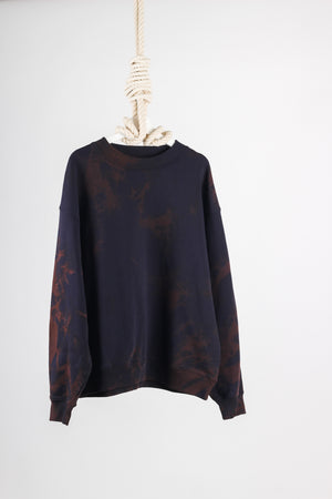 ACNE DYE Fint Peace Cotton Sweatshirt Medium