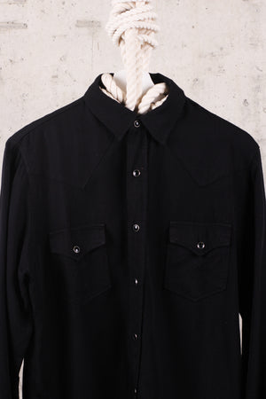 Saint Laurent Button Down Shirt - Black Large