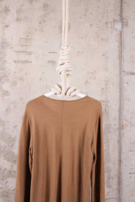 Rick Owens T-shirt Brown/ Mustard-Yellow - Size Medium / M