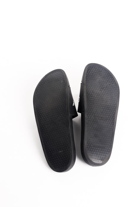 GIVENCHY RUBBER SLIDE SANDALS