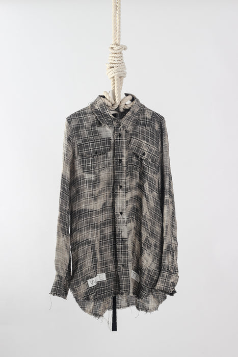 Off-White Blue Collar 2016 Flannel Size Small