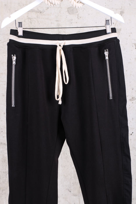 Fear Of God Double Knit Track Black Pants - XL