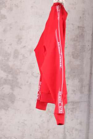 Off-White c/o Virgil Abloh Red Track Jacket