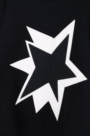 Neil Barret Black Star jumper in Large