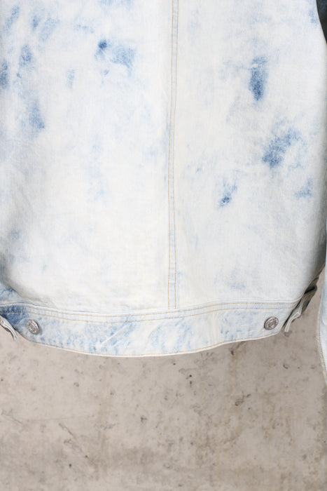 FEAR OF GOD - Washed Elvedge Denim Jacket in Light Blue - Medium