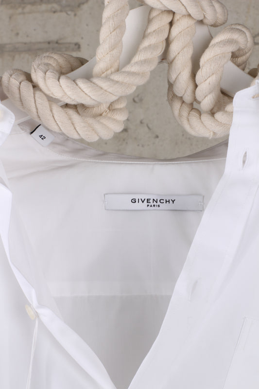 Givenchy Real Lies Real Eyes Embroidered Shirt : Size EU 42