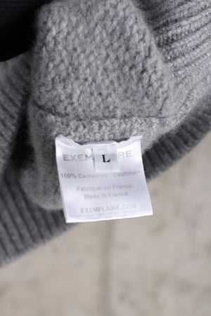 Exemplaire Cashmere of Shetland crewneck sweater- Size Large