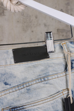 Fear Of God Holy Water Skinny Jeans in Light Blue
