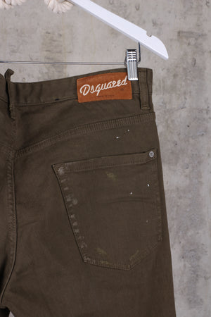 DSQUARED2 Green Mens Jeans - Size (IT 52) 42