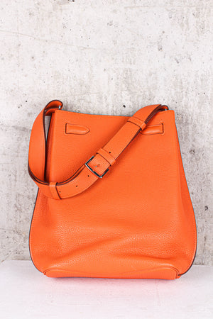 Hermés Kelly Orange Shoulder Bag Togo Leather Gold Hardware - Brand New
