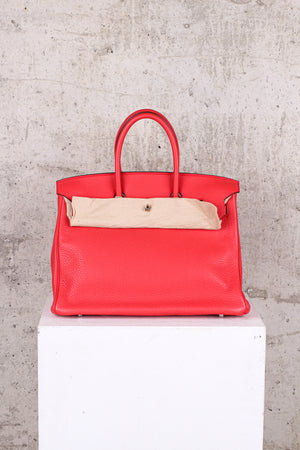 Hermés Birkin 35 Togo Leather Palladium Hardware - Brand New