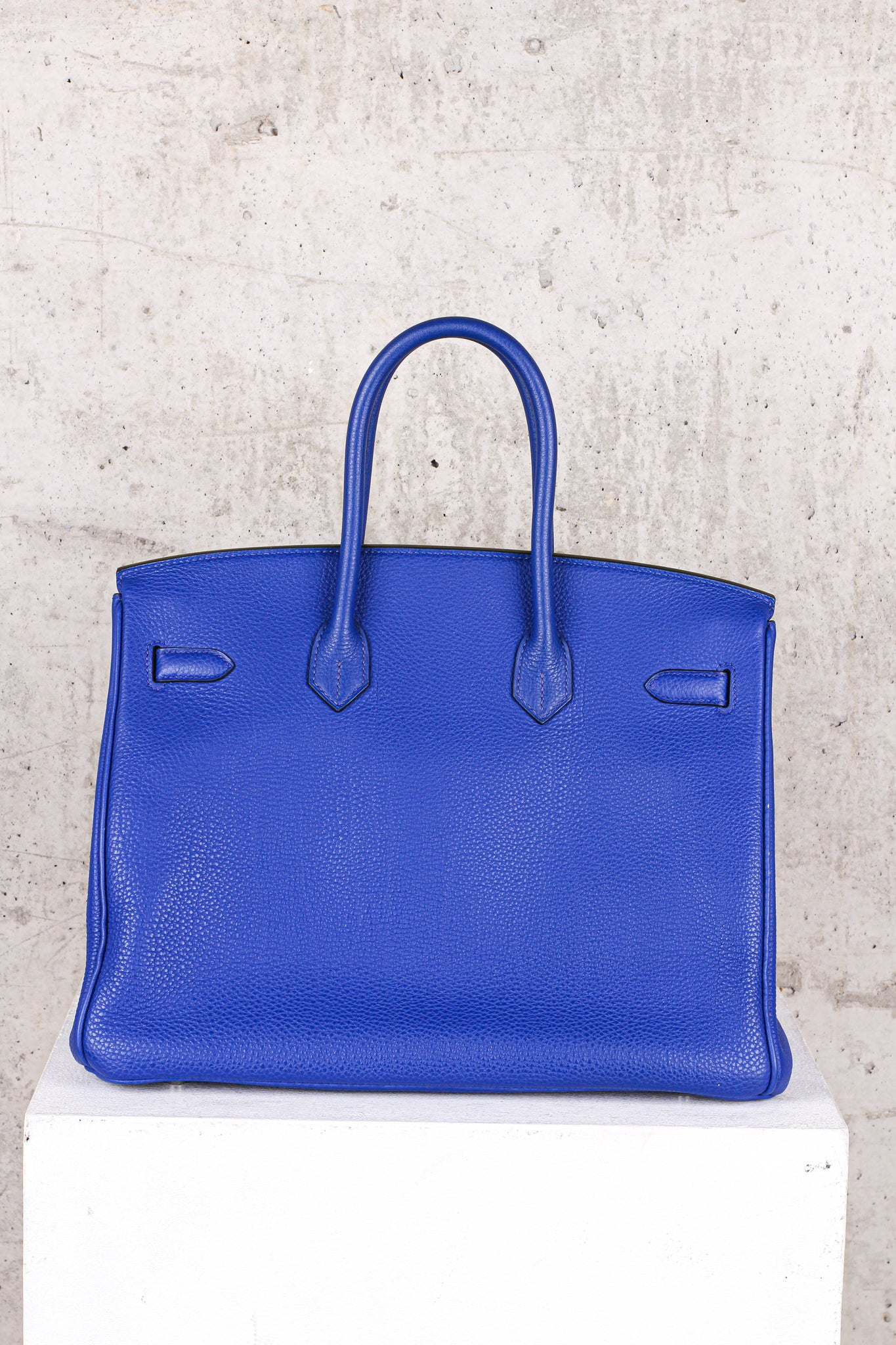 Hermés Birkin Blue 35 Togo Leather Gold Hardware - Brand New