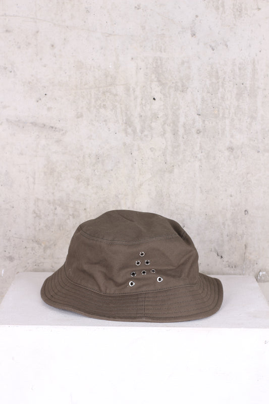 ACNE Khaki Bucket Hat - One Size