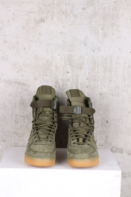 NIKE Khaki Special Field AF1 Trainers - Size 10