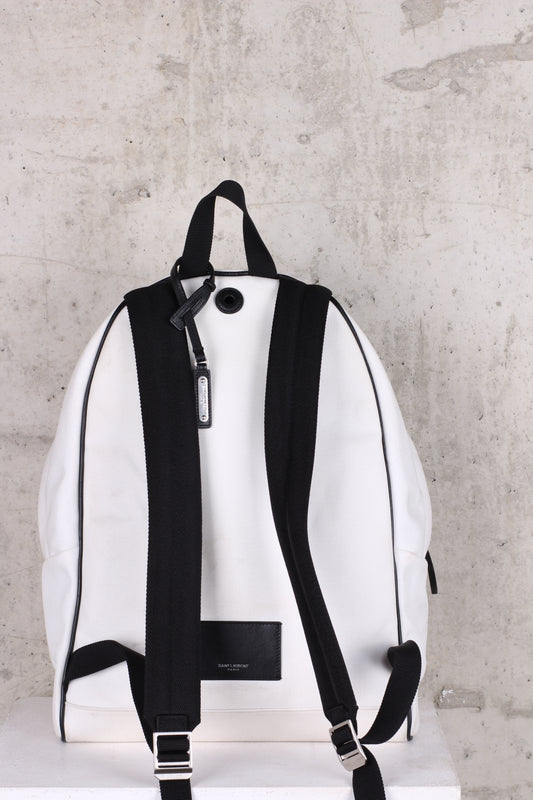 SAINT LAURENT White Backpack