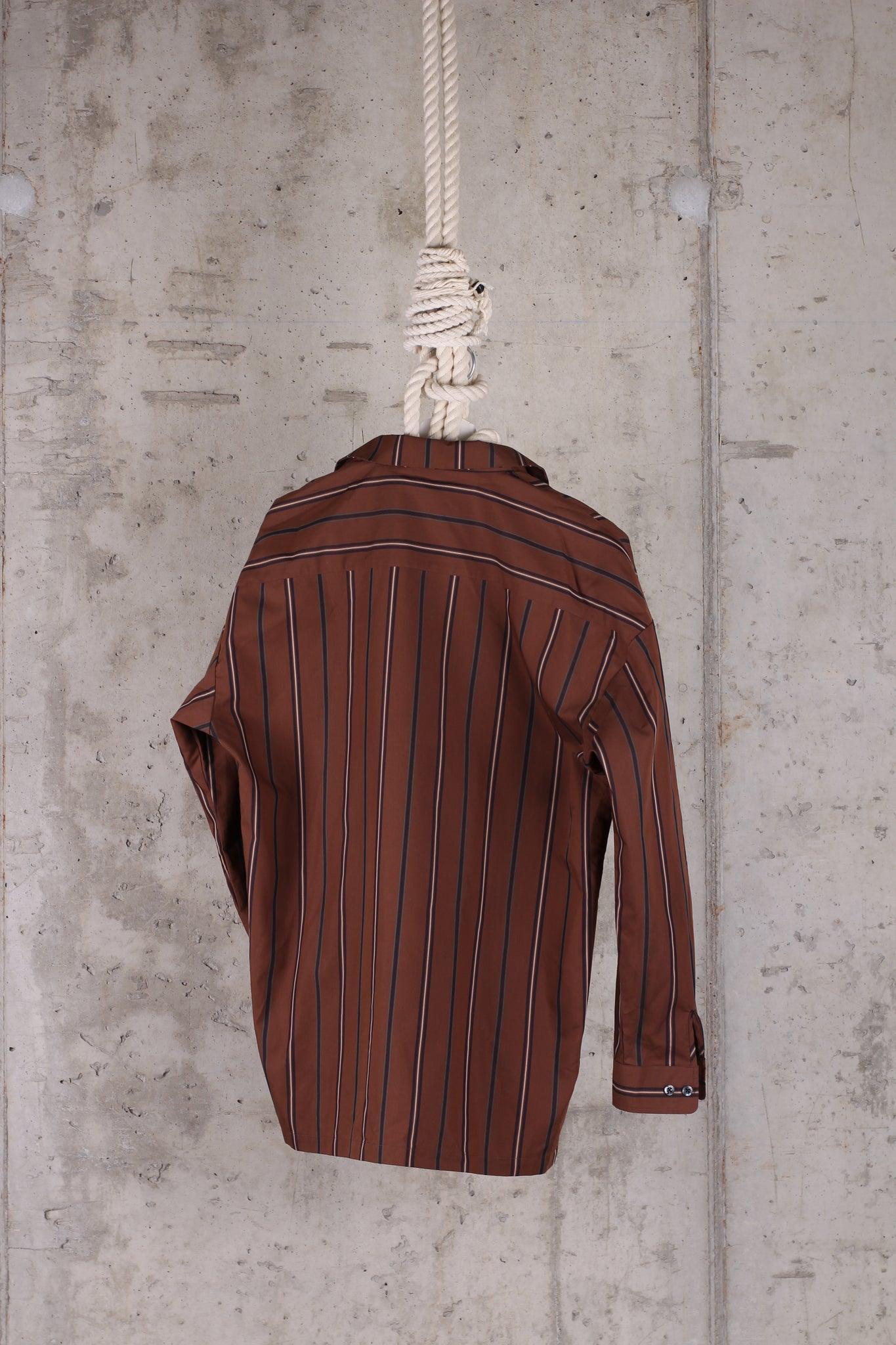 LOVELESS Long Sleeve Brown Shirt -