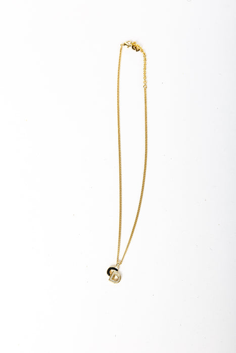 Dior CD Initials Necklace