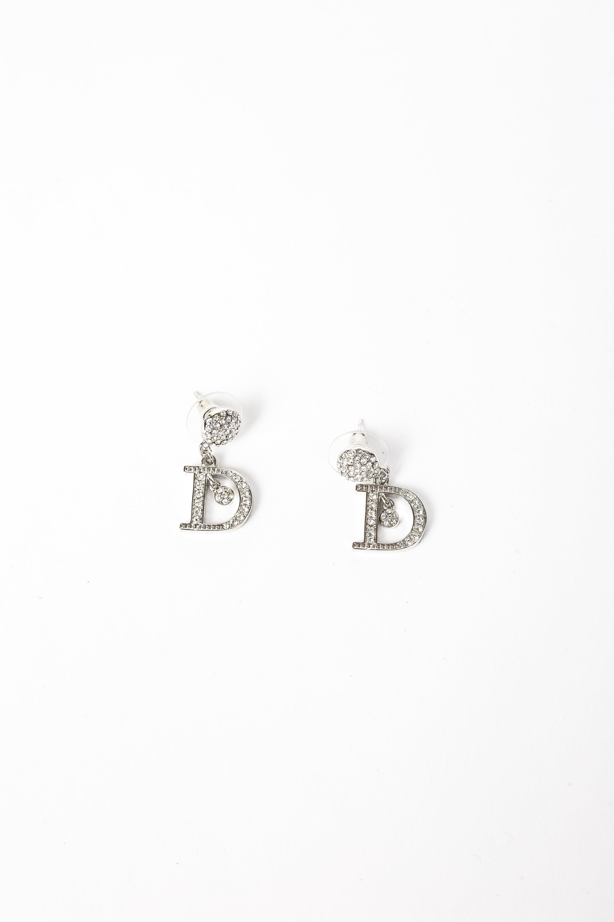 Dior Initial Earrings