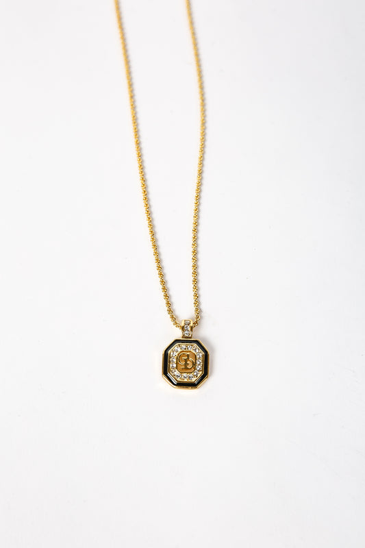 Christian Dior Initials Necklace