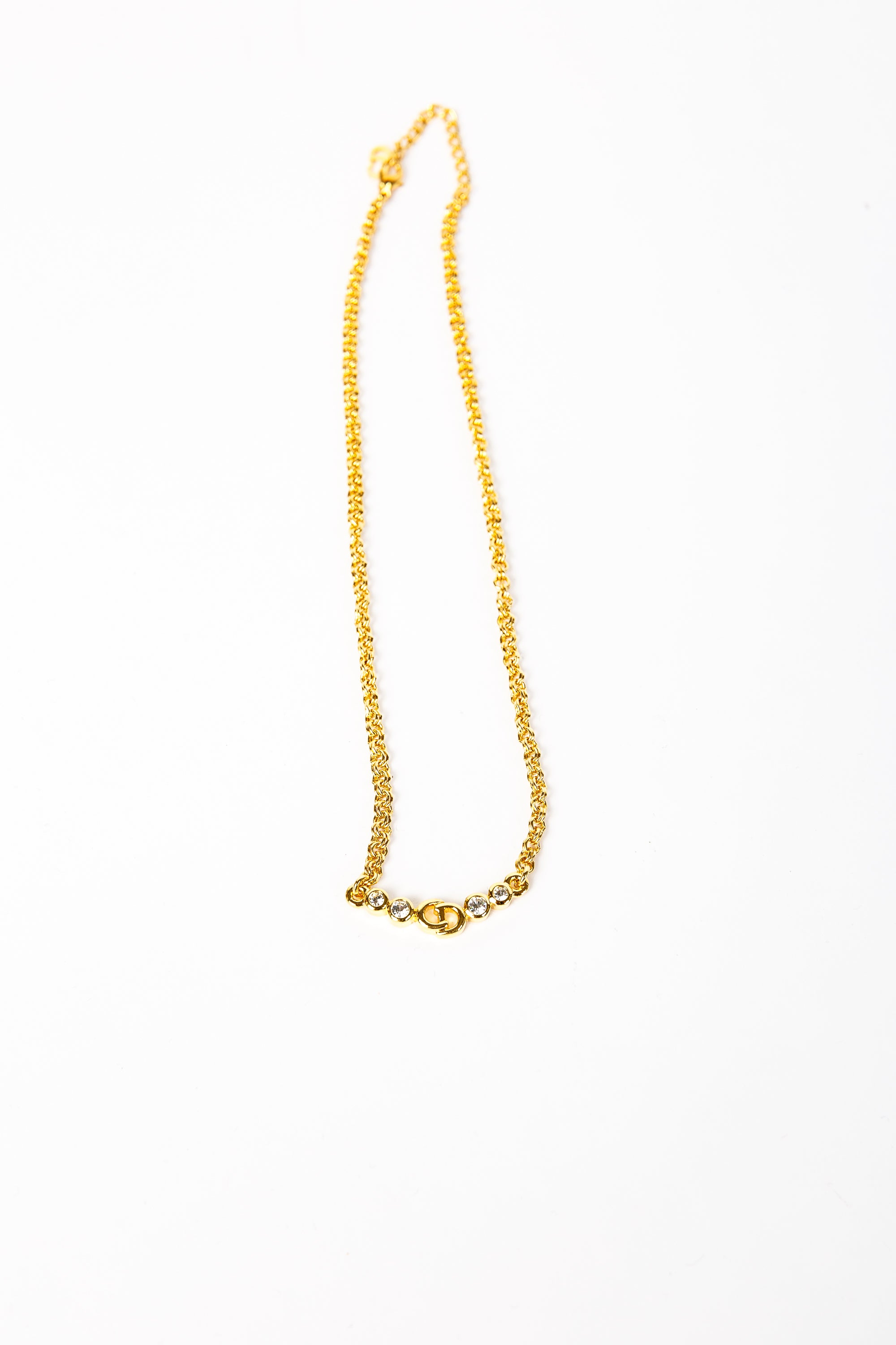 Dior Initial Necklace