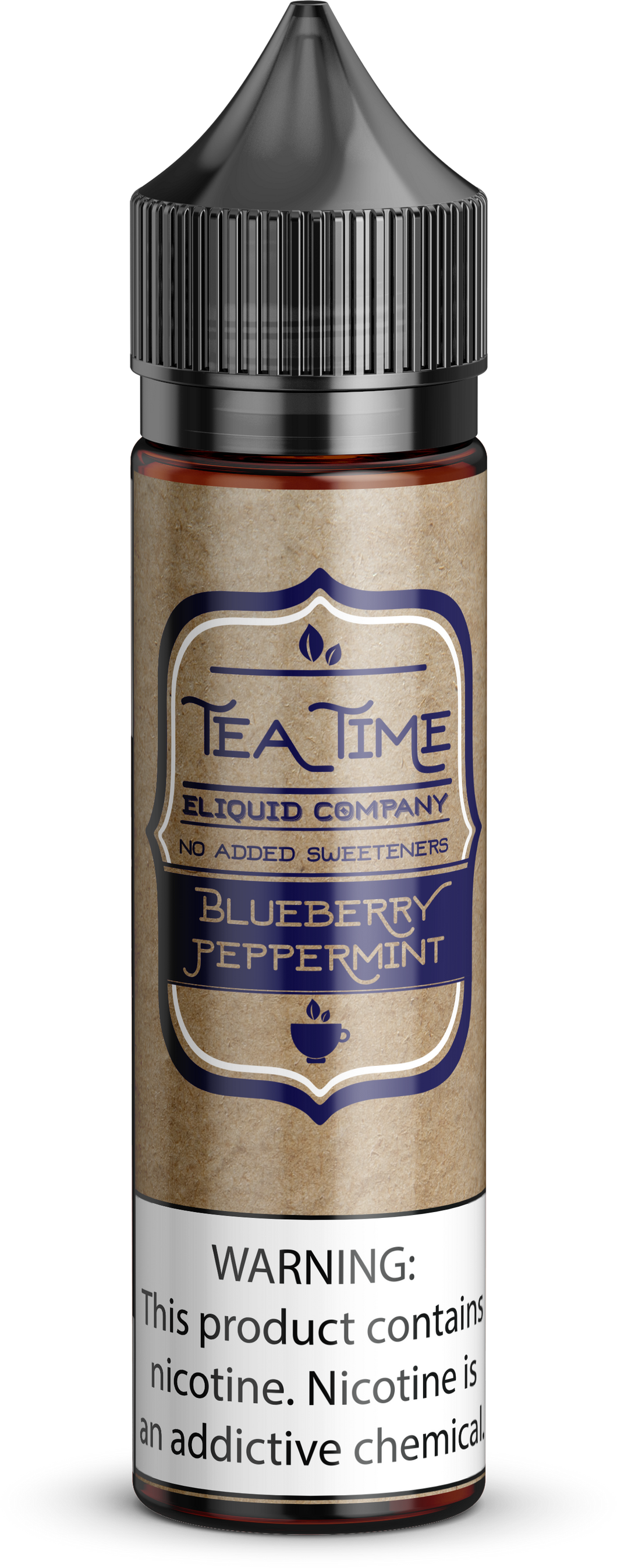 Blueberry Peppermint Tea | Vape Juices and E-Liquids | Vape Juice | E-Liquids | E-Cigarettes | Tea Time Eliquid Co.