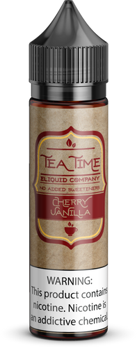 Cherry Vanilla Tea | Vape Juices and E-Liquids | Vape Juice | E-Liquids | E-Cigarettes | Tea Time Eliquid Co.