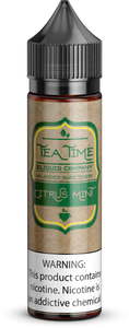 Citrus Mint Tea | Vape Juices and E-Liquids | Vape Juice | E-Liquids | E-Cigarettes | Tea Time Eliquid Co.