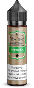 Green Tea | Vape Juices and E-Liquids | Vape Juice | E-Liquids | E-Cigarettes | Tea Time Eliquid Co.