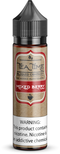 Mixed Berry Tea | Vape Juices and E-Liquids | Vape Juice | E-Liquids | E-Cigarettes | Tea Time Eliquid Co.