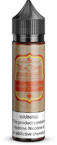 Peach Mango Tea | Vape Juices and E-Liquids | Vape Juice | E-Liquids | E-Cigarettes | Tea Time Eliquid Co.