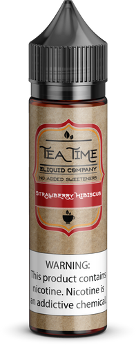 Strawberry Hibiscus Tea | Vape Juices and E-Liquids | Vape Juice | E-Liquids | E-Cigarettes | Tea Time Eliquid Co.