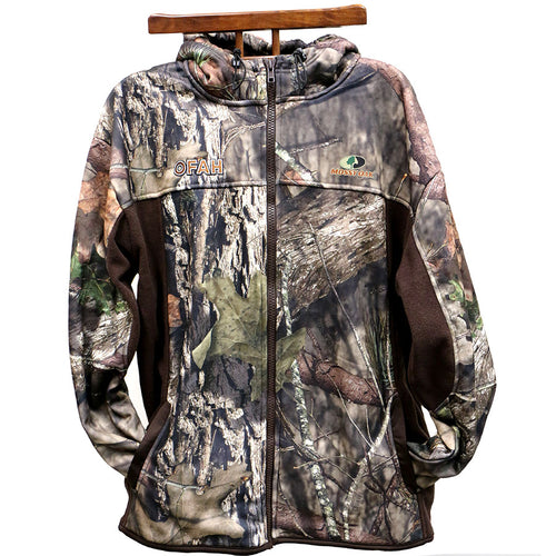 Mossy Oak Full Zip Hooded Jacket